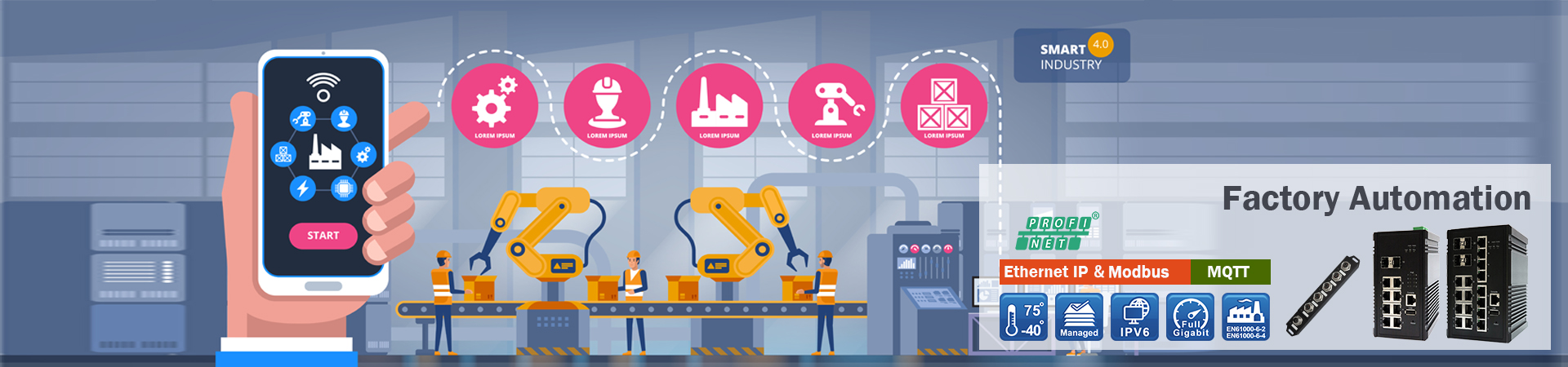 Factory Automation Solution